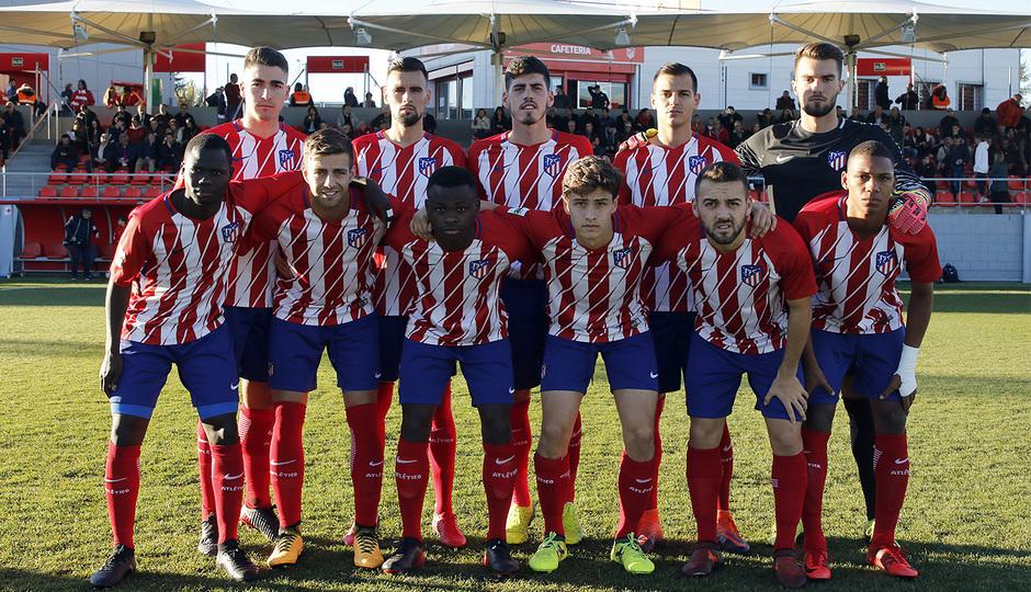 Atlético de Madrid B - Ponferradina | Once titular