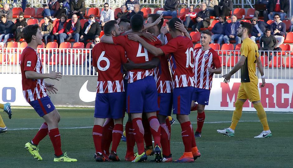 Atlético de Madrid B - Ponferradina | Celebración