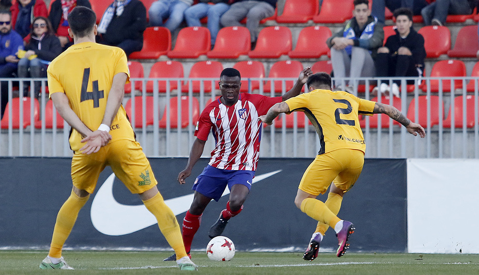 Atlético de Madrid B - Ponferradina | Salomón Obama