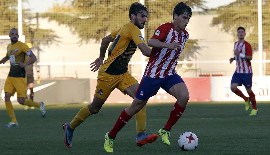 Atlético de Madrid B - Ponferradina | Solano