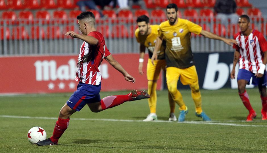Atlético de Madrid B - Ponferradina | Toni Moya