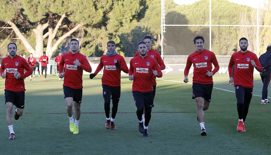 Temporada 17/18 | 13/11/2017 | Entrenamiento en la Ciudad Deportiva Wanda |
