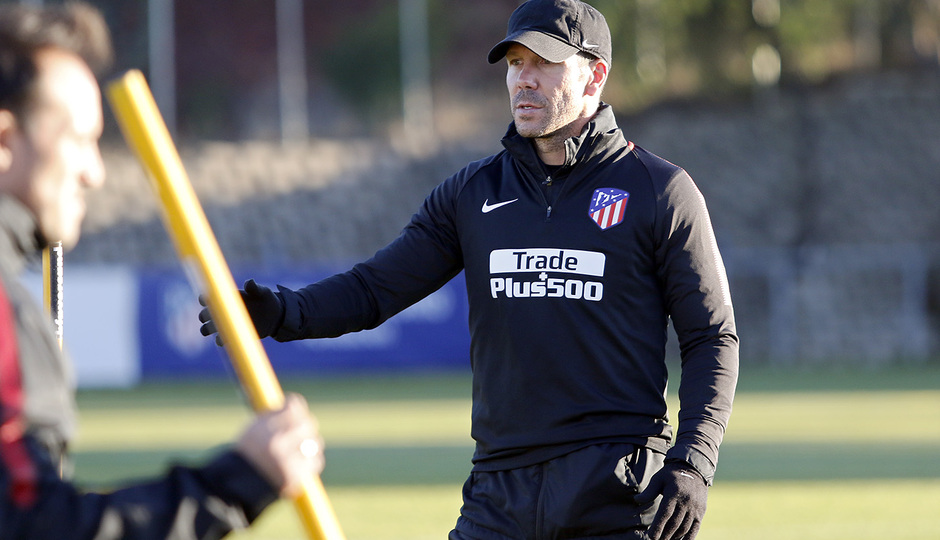 Temporada 17/18 | 13/11/2017 | Entrenamiento en la Ciudad Deportiva Wanda | Simeone