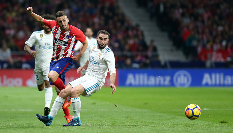 Temp. 17-18 | Atlético de Madrid - Real Madrid | Koke