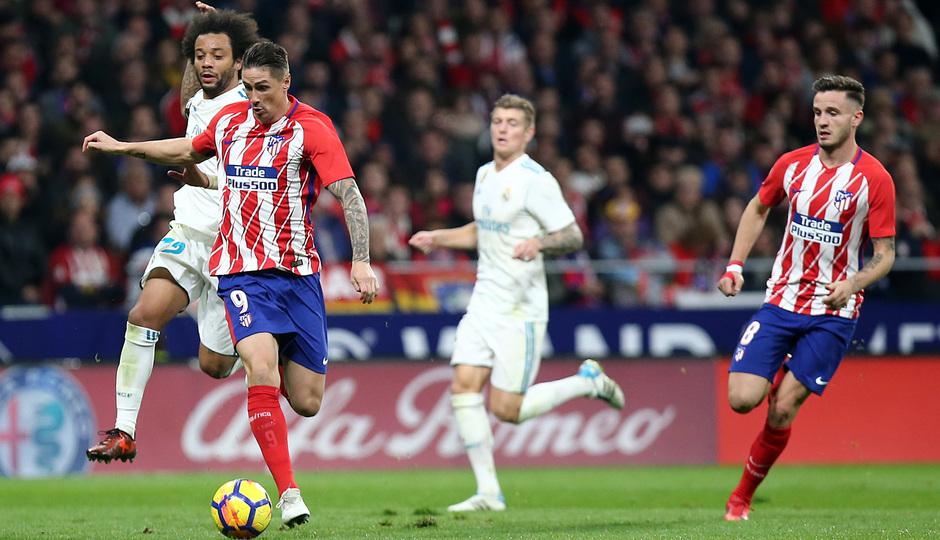Temp. 17-18 | Atlético de Madrid - Real Madrid | Torres