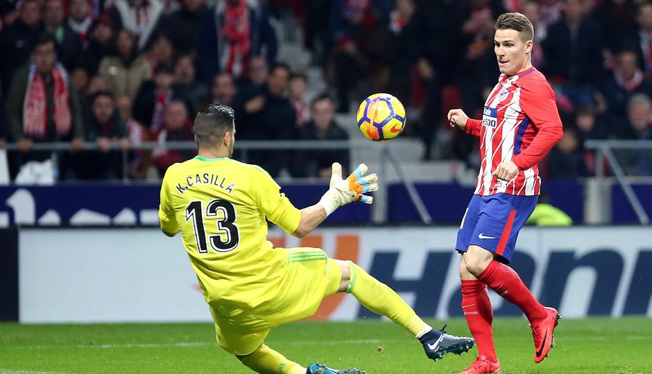 Temp. 17-18 | Atlético de Madrid - Real Madrid | Gameiro