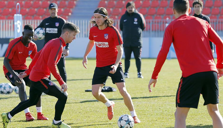 Temporada 17/18   20/11/2017   Entrenamiento primer equipo   Filipe