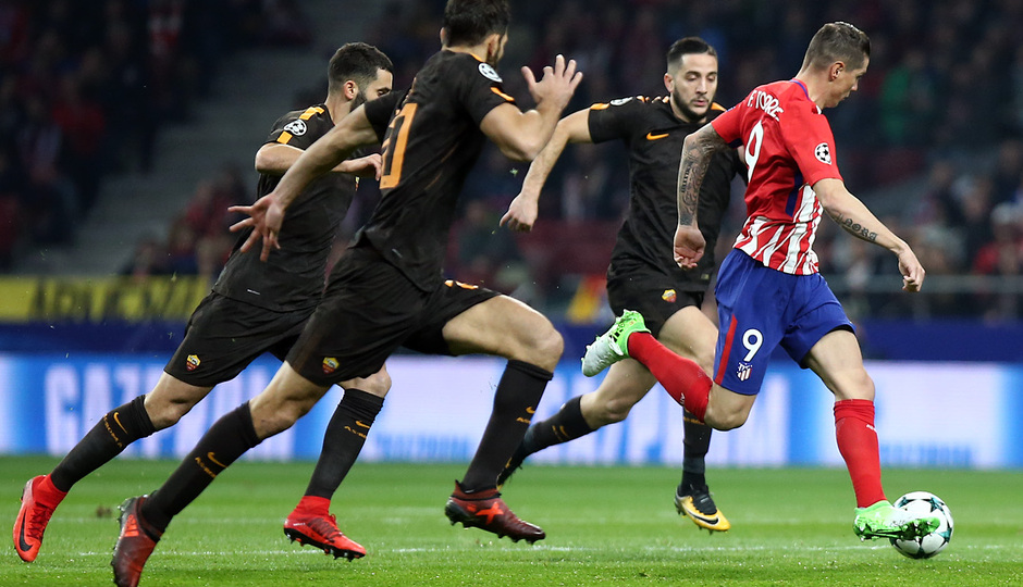 Temp. 17/18 | Atlético de Madrid - Roma | Torres