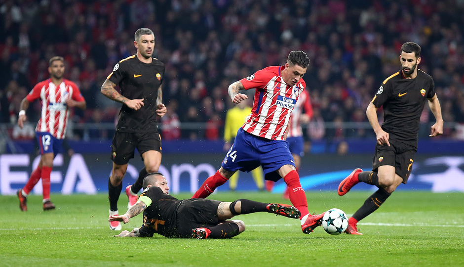 Temp. 17/18 | Atlético de Madrid - Roma | Giménez