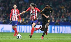Temp. 17/18 | Atlético de Madrid - Roma | Filipe Luis