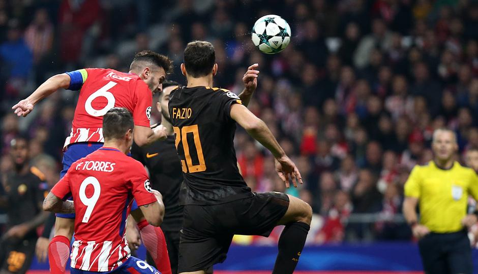 Temp. 17/18 | Atlético de Madrid - Roma | Koke