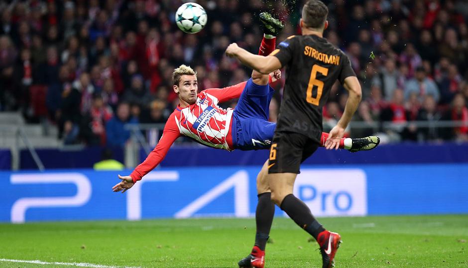 Temp. 17/18 | Atlético de Madrid - Roma | Griezmann