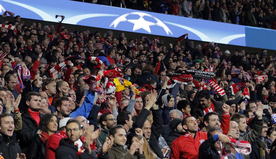 Temp. 17/18 | Atlético de Madrid - Roma | Afición