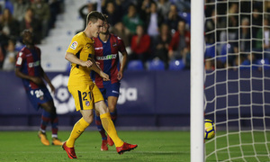 Temp. 17-18 | Levante - Atlético de Madrid | Gameiro