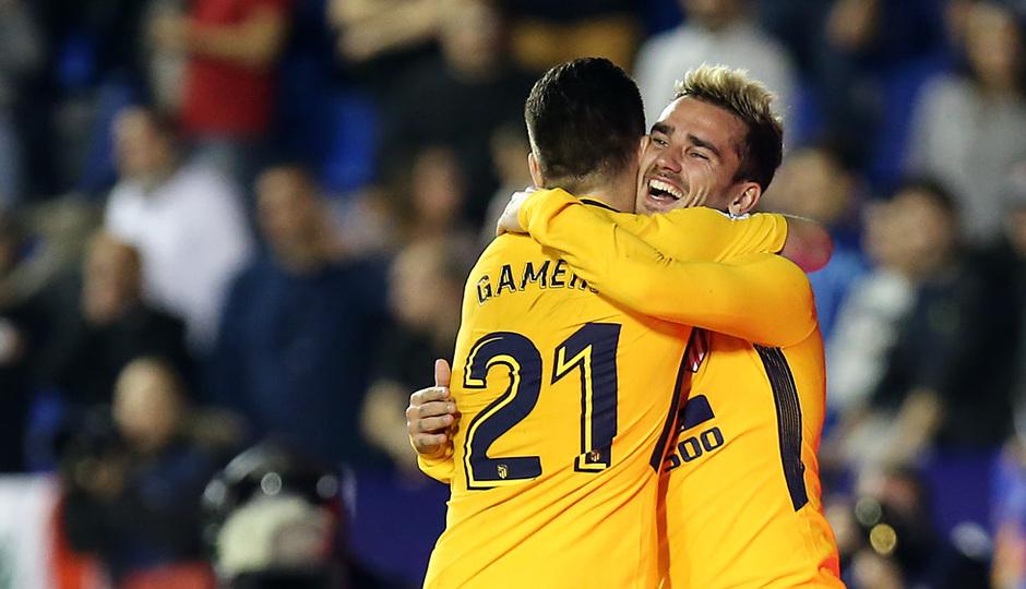 Temp. 17-18 | Levante - Atlético de Madrid | Gameiro y Griezmann
