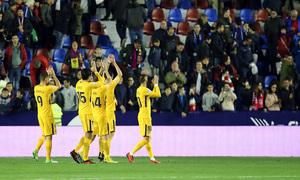 Temp. 17-18 | Levante - Atlético de Madrid | Aplausos