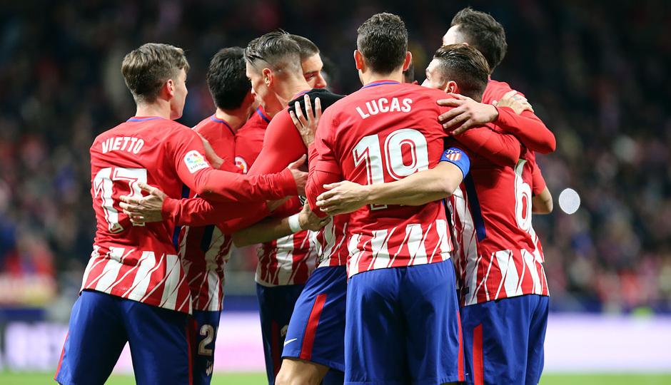 Temp. 17-18 | Atlético de Madrid - Elche | Celebración