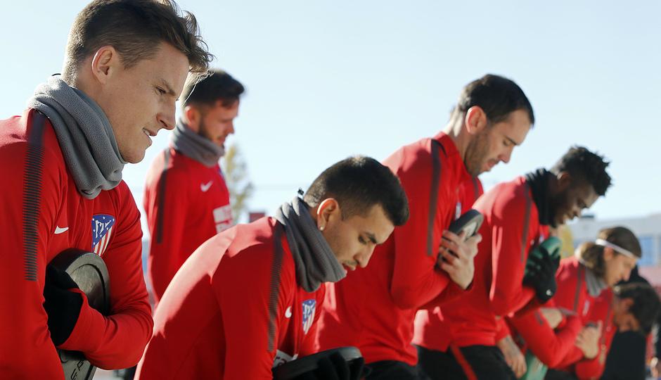 Temporada 17/18 | 30/11/2017 | Entrenamiento primer equipo | Gameiro