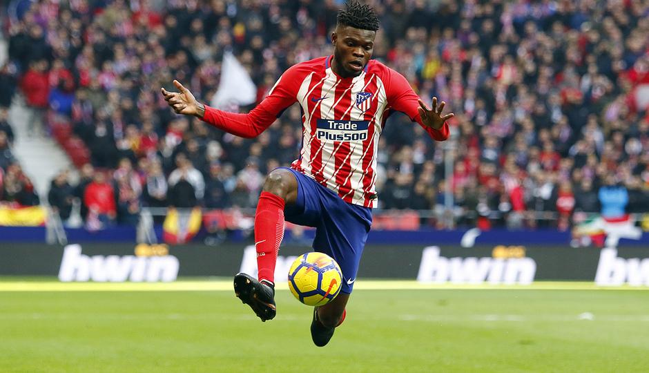 Temporada 17/18 | Atlético - Real Sociedad | Thomas