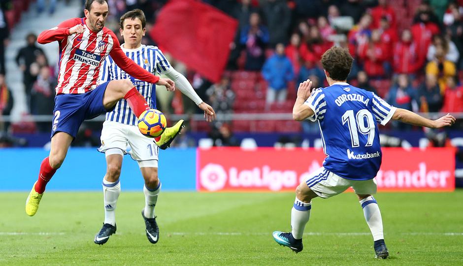 Temporada 17/18 | Atlético - Real Sociedad | Godín