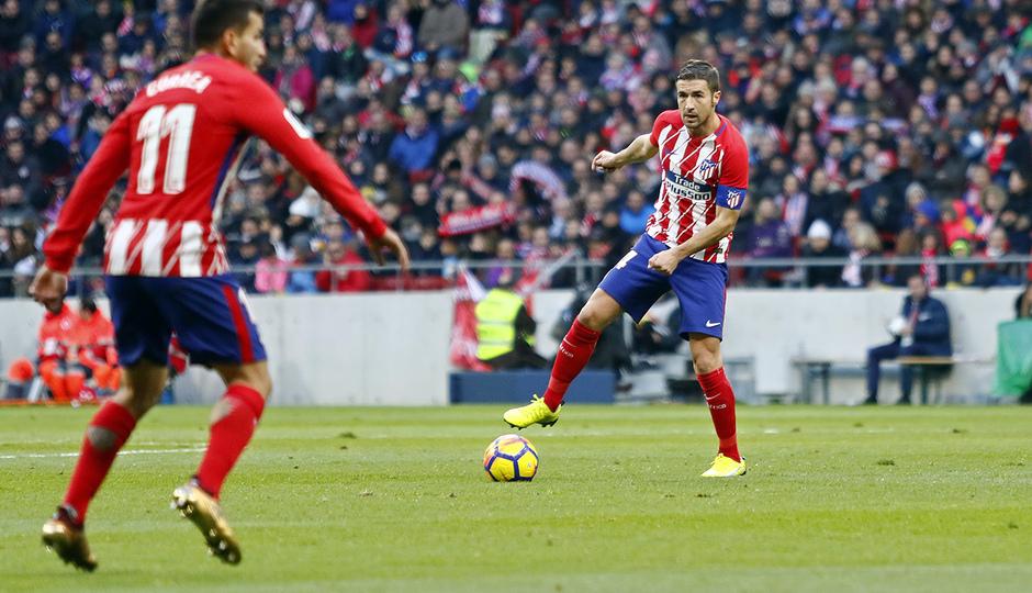 Temporada 17/18 | Atlético - Real Sociedad | Gabi