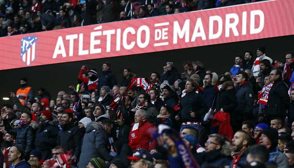 Temporada 17/18 | Atlético - Real Sociedad | Afición