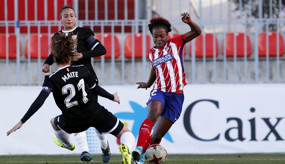 Temp. 17/18 | Atlético de Madrid Femenino - Sevilla FC | Ordega