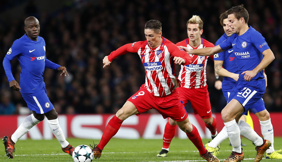 Temp. 17/18 | Chelsea - Atlético de Madrid | Torres