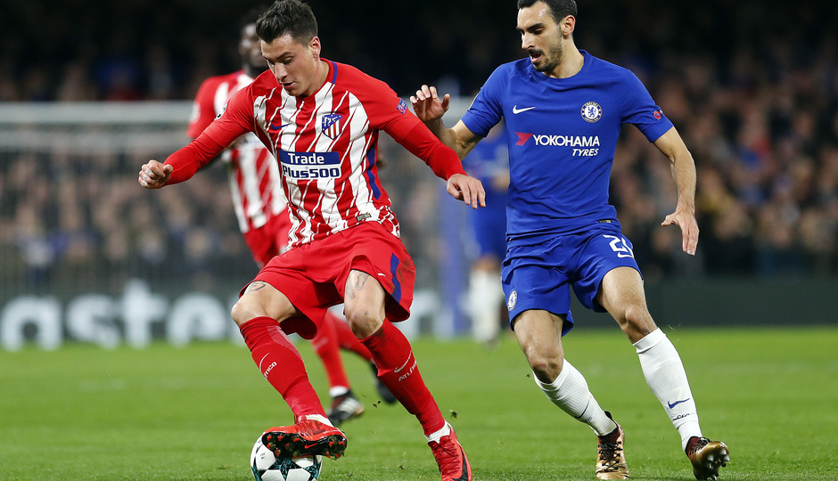 Temp. 17/18 | Chelsea - Atlético de Madrid | Giménez
