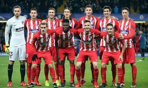 Temp. 17/18 | Chelsea - Atlético de Madrid | Once