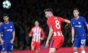 Temp. 17/18 | Chelsea - Atlético de Madrid | Saúl