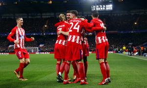 Temp. 17/18 | Chelsea - Atlético de Madrid | Piña