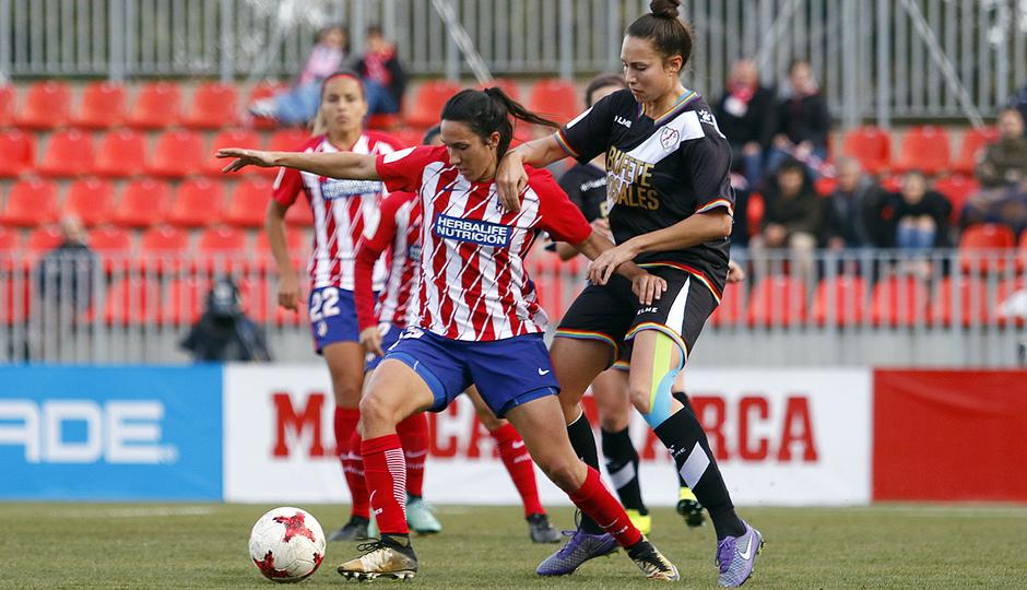Temp. 17-18 | Atlético de Madrid Femenino-Rayo Vallecano | Meseguer
