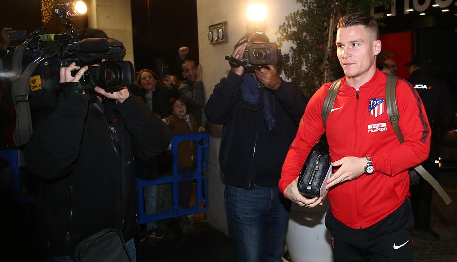 Temp. 2017-2018. Llegada a Sevilla. Gameiro