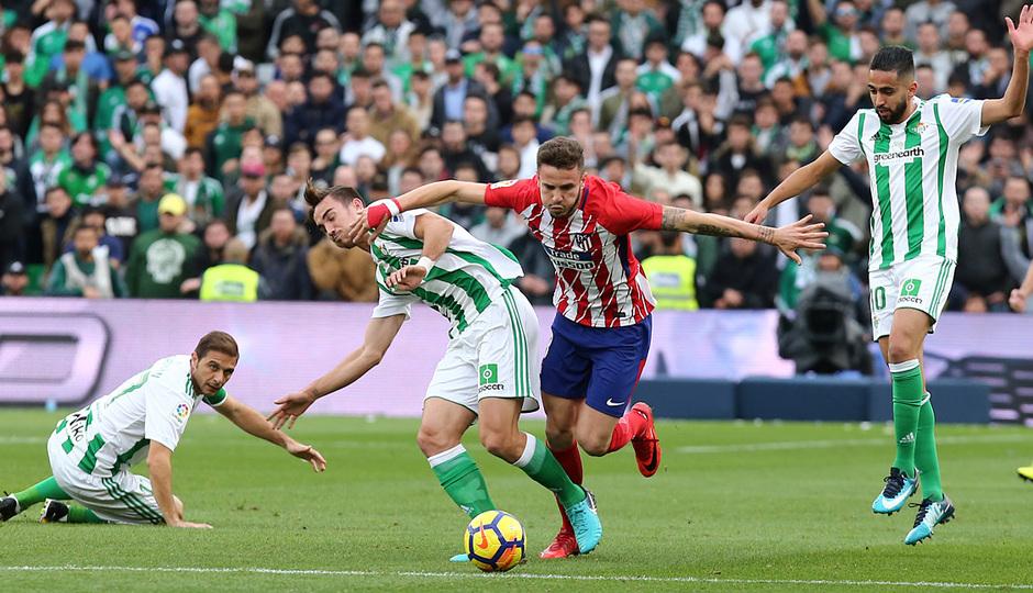 Temp. 17-18 | Betis - Atlético de Madrid | Saúl