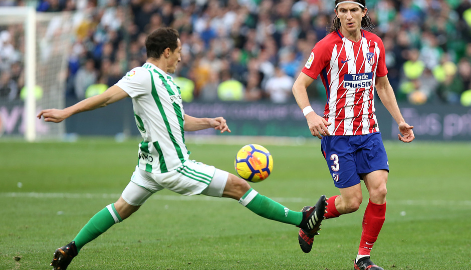 Temp. 17-18 | Betis - Atlético de Madrid | Filipe Luis