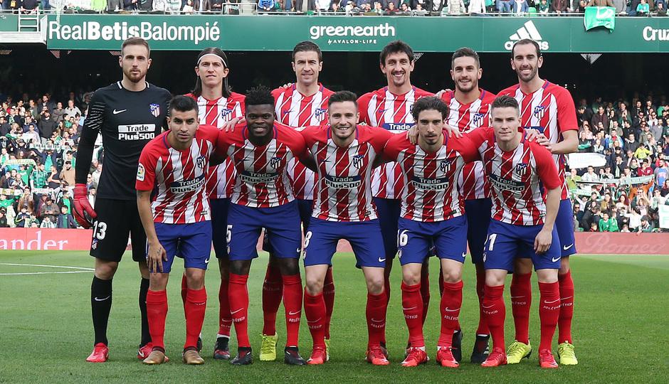 Temp. 17-18 | Betis - Atlético de Madrid | Once