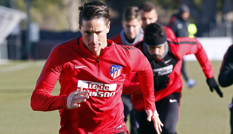 Temporada 17/18 | Entrenamiento 13/12/17 | Fernando Torres