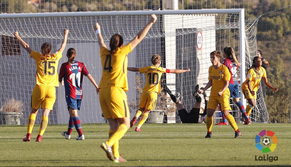 Temp. 17-18 | Levante - Atlético de Madrid Femenino | Celebración