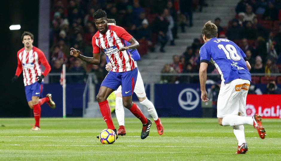 Temp. 17-18   Atlético de Madrid-Alavés   Thomas