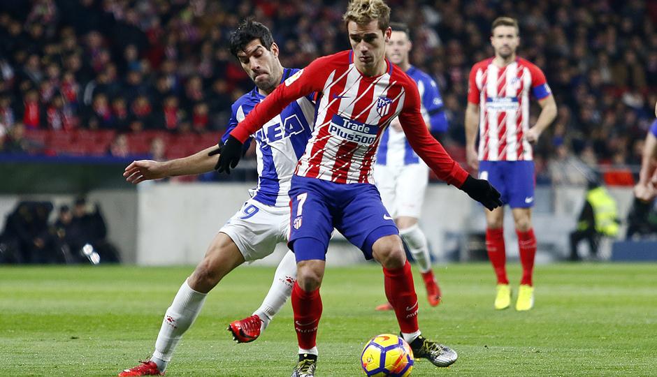 Temp. 17-18   Atlético de Madrid-Alavés   Griezmann
