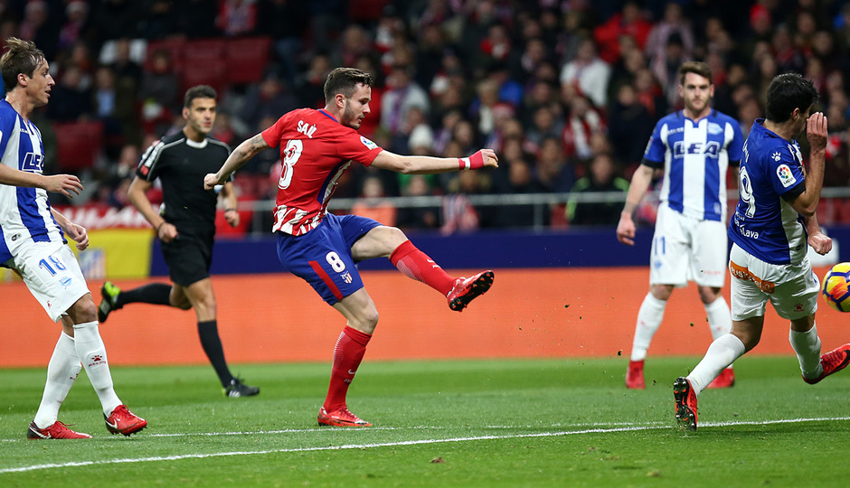 Temp. 17-18   Atlético de Madrid-Alavés   Saúl