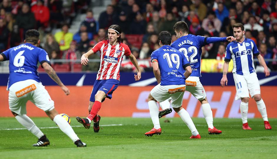 Temp. 17-18   Atlético de Madrid-Alavés   Filipe Luis