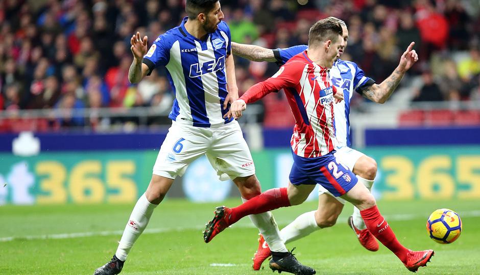 Temp. 17-18   Atlético de Madrid-Alavés   Gameiro