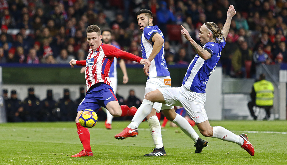 Temp. 17-18 | Atlético de Madrid-Alavés | Gameiro