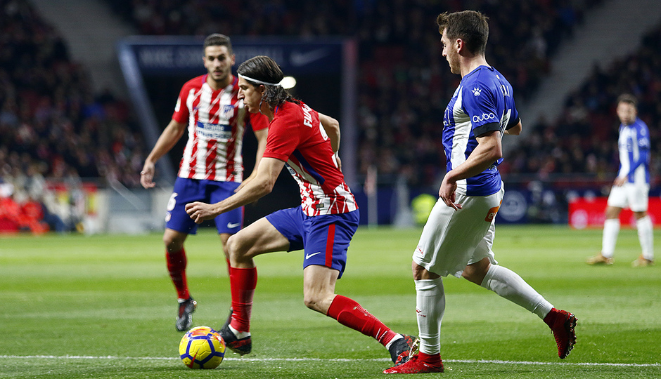 Temp. 17-18 | Atlético de Madrid-Alavés | Filipe Luis