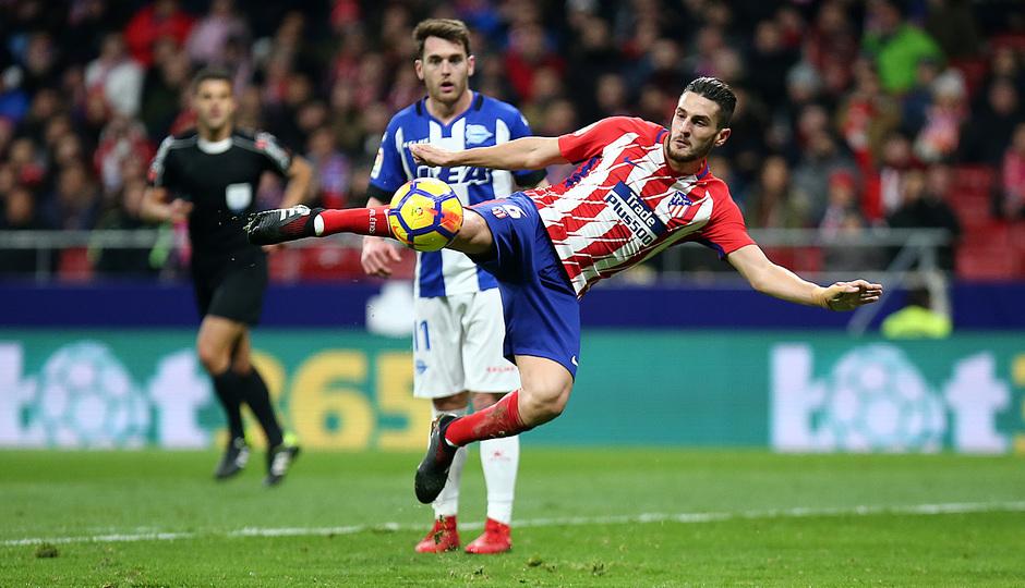Temp. 17-18   Atlético de Madrid-Alavés   Koke
