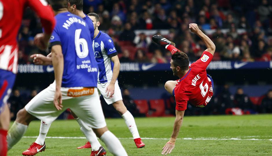 Temp. 17-18 | Atlético de Madrid-Alavés | Koke