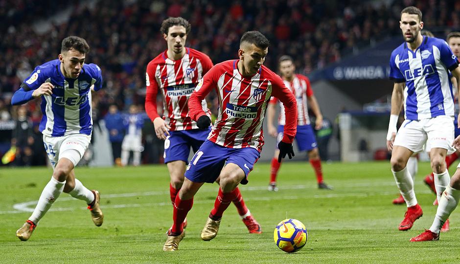 Temp. 17-18   Atlético de Madrid-Alavés   Correa