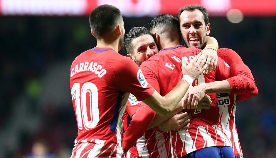 Temp. 17-18   Atlético de Madrid-Alavés   Celebración